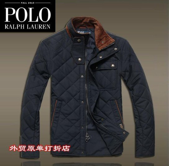 doudoune ralph lauren zipper mode france pas cher blue