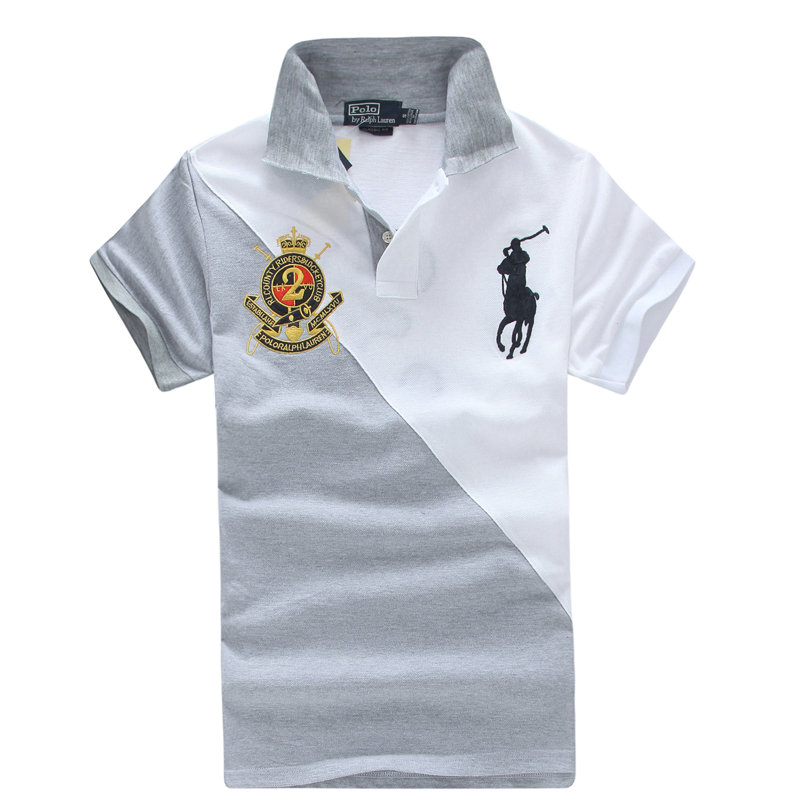23.00EUR, high neck hommes t-shirt new listing polo ralph lauren 2013 italy  cotton pl1022 silver