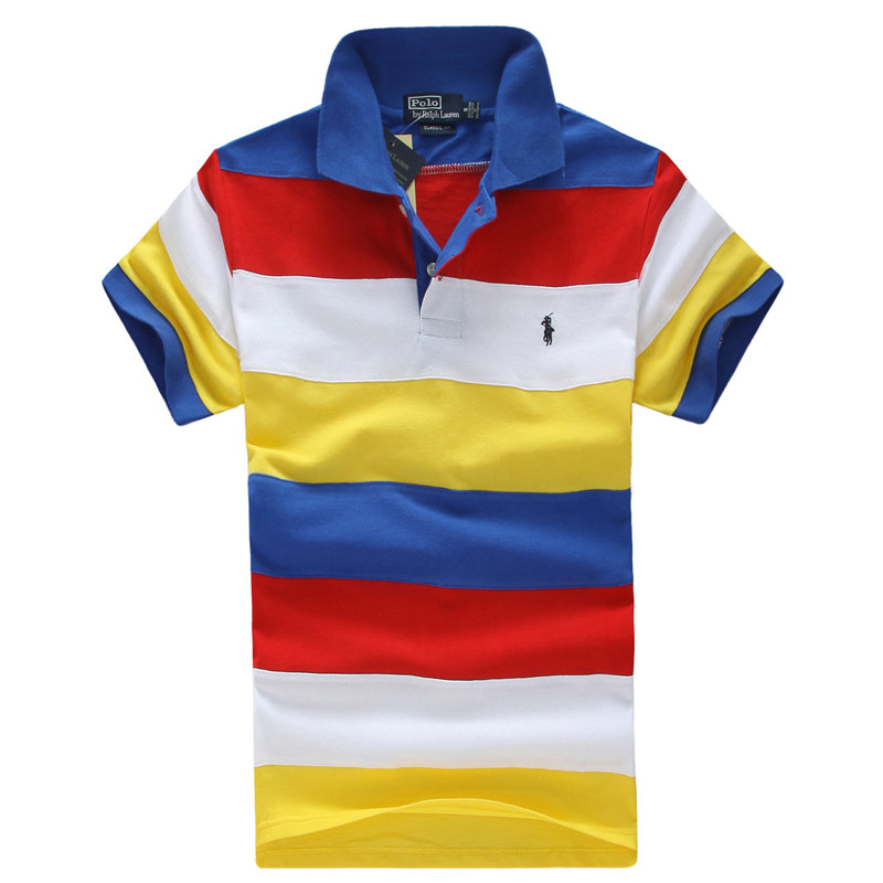 high neck hommes t-shirt new listing polo ralph lauren 2013 italy cotton pl1025 blue yellow