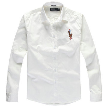 2013 chemise polo ralph lauren acheter coton man big pony london white