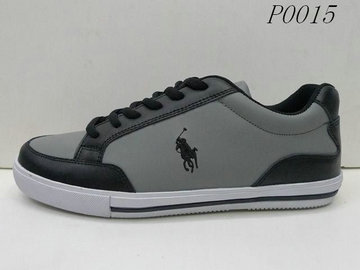 cheap men ralph lauren 2014 low top sneakers 0015 gris