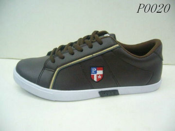cheap men ralph lauren 2014 low top sneakers 0020 brun