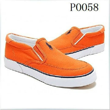 cheap men ralph lauren 2014 low top sneakers 0058 orange
