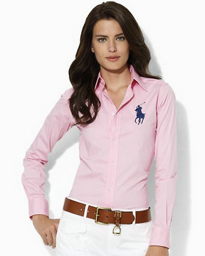 chemises ralph lauren women poney red blue,ralph lauren paris