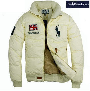 doudoune ralph lauren big pony france hiver nouveau great britain blance