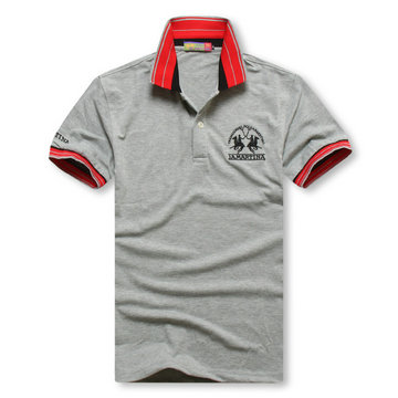 high collar polo ralph lauren man cotton t-shirt breathable 2013 1a martina gray