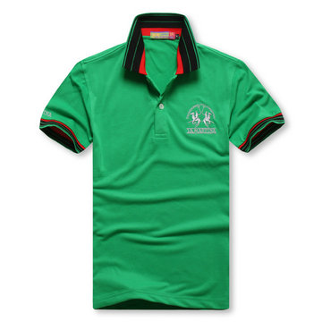 high collar polo ralph lauren man cotton t-shirt breathable 2013 1a martina green