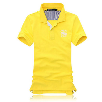 polo ralph lauren wholesale tee shirt man cotton m-xxl rl pc jaune