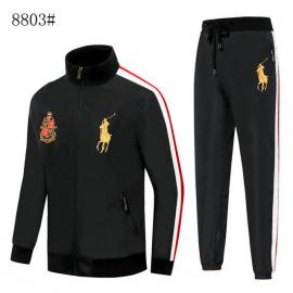 polo ralph lauren long sleeves survetement jacket big pony black
