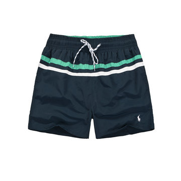 polo ralph lauren big boys pony shorts de bain noir blanc