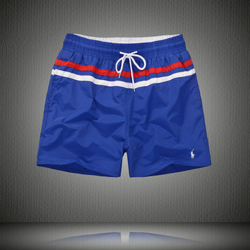 polo ralph lauren big boys pony shorts de bain bleu blanc