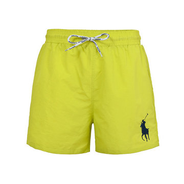 polo ralph lauren big boys pony shorts de bain lacing jaune