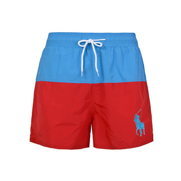 polo ralph lauren big boys pony shorts de bain poney blue rouge