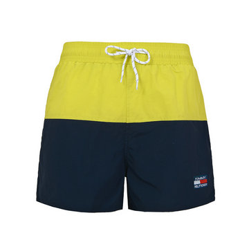 polo ralph lauren big boys pony shorts de bain tommi jaune