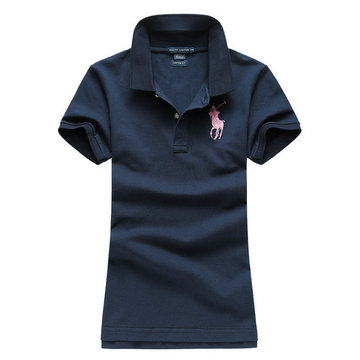 polo ralph lauren newport women tee shirt fille blue