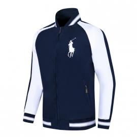 ralph lauren blouson man long sleeves col stand big pony mix