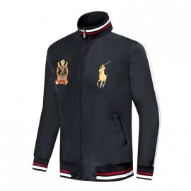 ralph lauren blouson man long sleeves col stand est