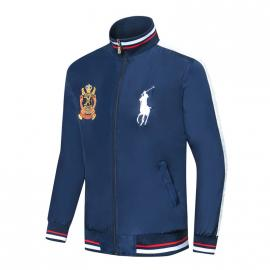 ralph lauren blouson man long sleeves col stand team event