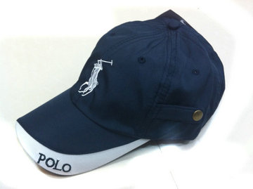 ralph lauren cap deux couleurs big pony blance pony blue