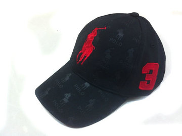 ralph lauren cap plus de poney rouge pony noir