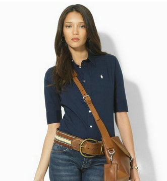 ralph lauren chemises women mid mode blue,ralph lauren chemises pas cher