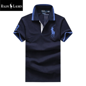 ralph lauren polo t-shirt pastel manche courte french navy