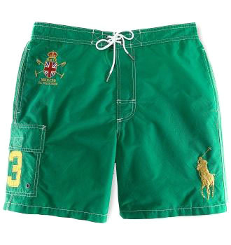 ralph lauren short de bain man-couronne vert,de bain collection 2012 sur polo