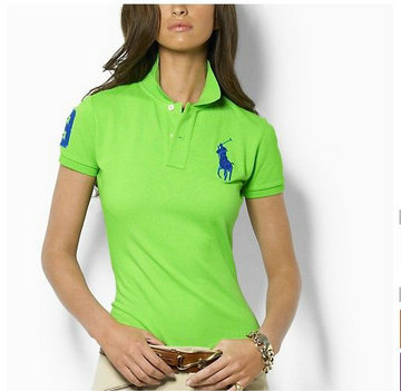 ralph lauren tee shirt women pony chemises three green