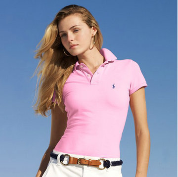 ralph lauren tee shirt women small pony mode pink