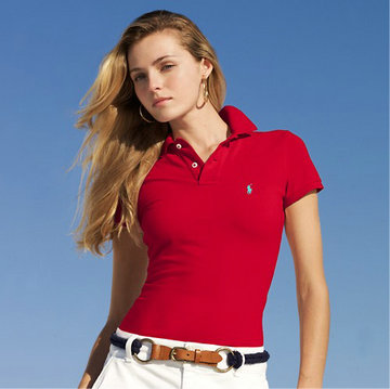 ralph lauren tee shirt women small pony mode red,polo lacoste womens