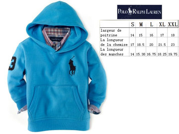 ralph lauren children bebe jacket a capuche big pony sky blue,polo children bebe jacket hiver