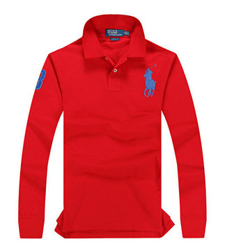 ralph lauren long t-shirt club de coton big red