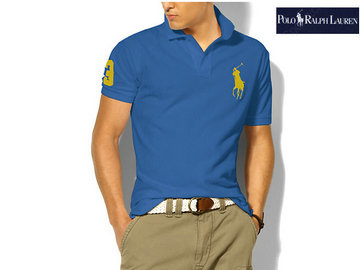 ralph lauren man t-shirt mode bleu or,ralph lauren t-shirt pas cher