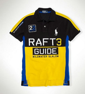 ralph lauren pas cher cotton col haut t-shirt men 2013 new raft3 guide