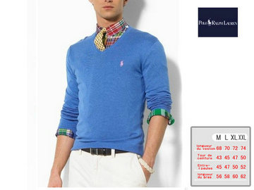 ralph lauren pulls man coton france blue discount,ralph lauren big pony