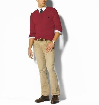 ralph lauren pulls man coton france deep red,cashmere v-neck pulls ralph lauren