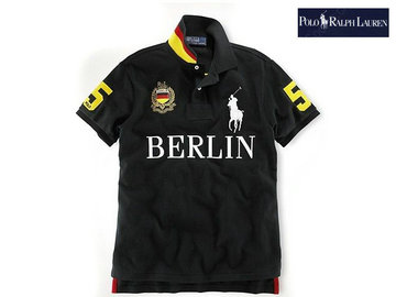 ralph lauren t-shirt nom ville city name berlin,short t-shirt ralph lauren col v