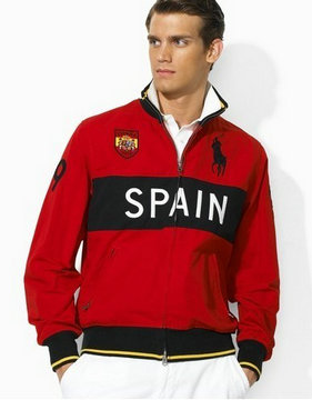 ralph lauren jacket contry name spain ronge noir