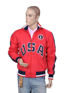ralph lauren jacket olympic usa rouge