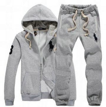 survetement ralph lauren big pony gris no.3