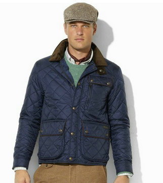 jackets et coatsx ralph lauren man polo 818 button blue