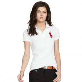 cheap ralph lauren polo sport fille t-shirt big pony blanc