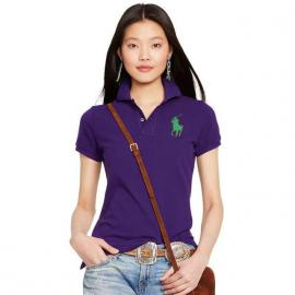 cheap ralph lauren polo sport fille t-shirt big pony purple