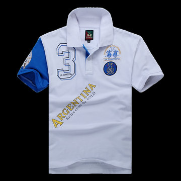 polo ralph lauren 2013 new t-shirt  argentina selection de polo white