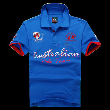 polo ralph lauren 2013 new t-shirt  polo team maniere bleu
