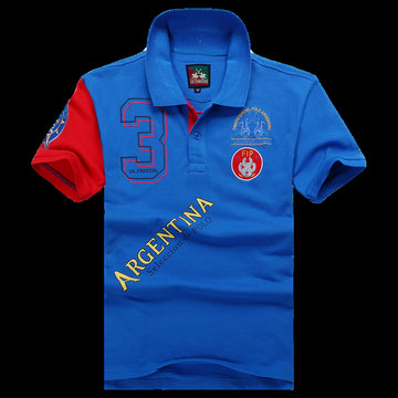 polo ralph lauren 2013 new t-shirt argentina selection de polo maniere bleu