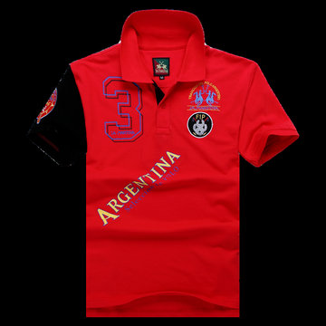 polo ralph lauren 2013 new t-shirt argentina selection de polo maniere rouge