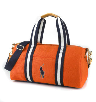 polo ralph lauren sac le fourre-tout mode orange