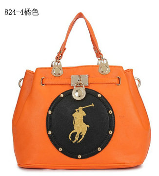polo ralph lauren sac cuir 4orange