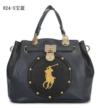 polo ralph lauren sac cuir 5blue